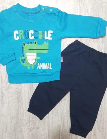 Costumas-2-piese-turquoise-crocodile-animal